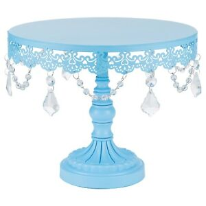 25 cm (10-inch) Crystal-Draped Cake Stand | All | Sophia Collection
