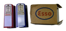 Vintage Esso Salt And Pepper Shakers In Original Box Flap Missing New Old Stock