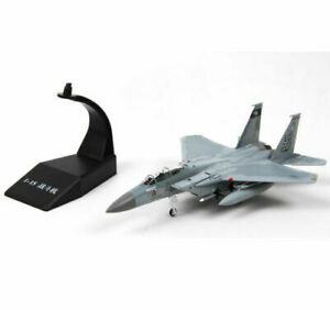 F-15 Tomcat Aircraft Model 1/100 Diecast Airplane Fighter Hot Toy Collectible