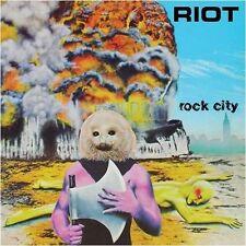 RIOT - Rock City  [BLACK Vinyl] LP