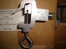 BOX OF 50 CPI ALUMINUM HOTLINE TAP #6-4/0  #8-1/0 ALUMINUM OR COPPER HTCJ 100