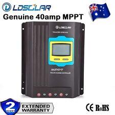 40A MPPT Solar Panel Regulator Charge Controller 12V/24V Auto Focus Tracking BU