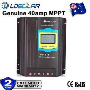 40amp MPPT Caravan Solar Panel Regulator MPPT Charge Controller 12V/24V Auto New