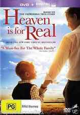Heaven Is For Real : NEW DVD