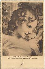PARMA - R.PINACOTECA - CORREGGIO - TESTA D'ANGELO - MADONNA DEL S.GIROLAMO 1913