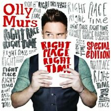OLLY MURS - RIGHT PLACE RIGHT TIME (SPECIAL EDITION)  CD + DVD  POP  NEW+