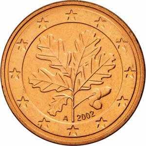 [#587499] République fédérale allemande, 5 Euro Cent, 2002, SPL, Copper Plated S