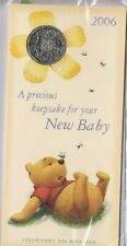 Coin 2006 Australia 50c C of A in Baby Memento folder & cover in pack