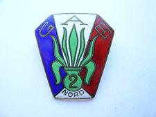 insigne légion groupe d'auxiliaires étrangers N° 2.Nord..Klein et Q
