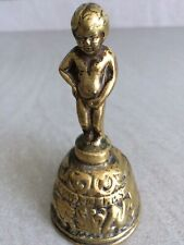 A Belgium Bruxelles Vintage Brass Bell