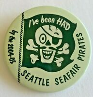 Seattle Seafair Pirates (2004-05) Vintage Pinback Button
