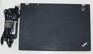 Lenovo ThinkPad W510 Quad Core I7@1.60GHz 8GB RAM 320GB HDD WIN 10. PROF NVIDIA