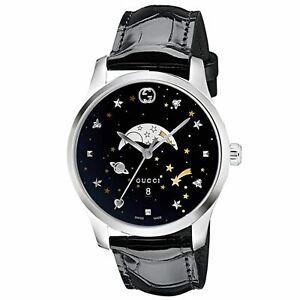 Gucci YA126327 Men's G-Timeless Black Quartz Watch