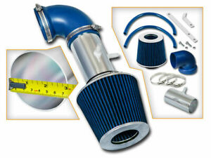 RAM AIR INTAKE Kit + BLUE FILTER FOR 01-04 Stratus Sebring 2.7L V6