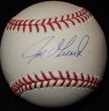 NY Yankees Manager Joe Girardi Steiner & MLB Auth