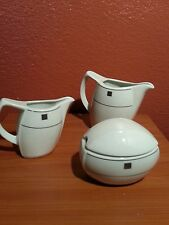 Schonwald Germany Teapot for one, creamer and sugar server 3pc set