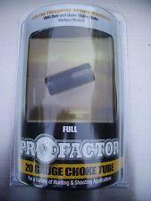 Pro-Factor 20 Gauge Choke Tube Full for Yildiz Over Under item 96542