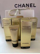 4x Chanel Sublimage La Creme Cream 5ml / 0.17oz each. NEW FORMULA