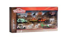 MAJORETTE 212057620-Big Explorer THEME Set - 6 véhicules et 8 animaux-NEUF
