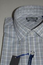 KENNETH COLE REACTION SLIM FIT DRESS SHIRT 15 32/33 NEW NWT BLUE CRYSTAL