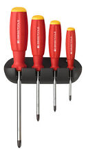 PB Swiss Tools PB 8242 Screwdriver Set Phillips with Wall Rack SwissGrip PH0-PH3