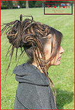 Brown Mix Synthetic Dread Falls, Hair Pieces, 20 Inches, Unisex.