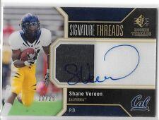 2011 SPA SP Authentic Shane Vareen Signature Threads Auto Jersey RC #ed /25