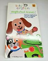 Baby Einstein Neighborhood Animals VHS Video Farm Nature Educational New Sealed