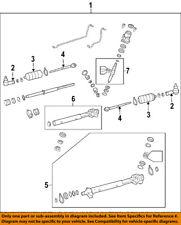 Pontiac GM OEM 04-06 GTO Steering Gear-Outer Tie Rod End 95710160