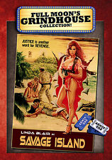 Savage Island DVD, Linda Blair, Grindhouse, Full Moon Features