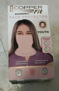 New Copper Fit Guard Well Face Protector Youth Pink