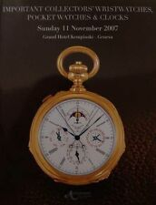 LIVRE NEUF WATCH/MONTRE (Breguet,Patek,Constantin,catalogue de vente)
