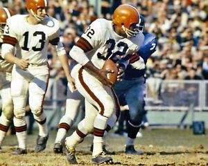 JIM BROWN CLEVELAND BROWNS LEGEND IN ACTION CLASSIC 8x10