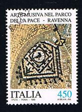 ITALIA 1 FRANCOBOLLO ARTISTICO E CULTURALE ITALIANO ARTE MUSIVA 1990 usato