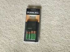 Duracell Premium Charger with  AA/AAA Rechargeable Batteries NIB Charge in 1-2.5