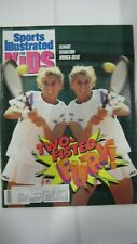 March 1991 Monica Seles Tennis Sports Illustrated For Kids