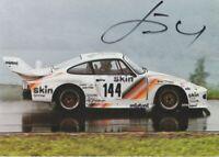 1980's Hans-Ruedi Hugentobler signed Decorplast Porsche RSR 935 postcard