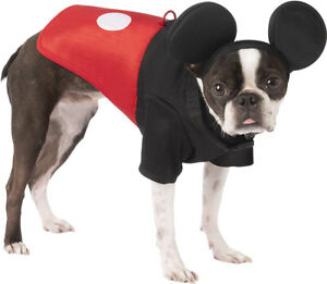 Mickey Mouse Disney Clubhouse Male Pet Harness Halloween Costume