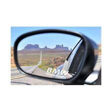Autocollant Sticker retroviseurs logo BMW bleu foncé