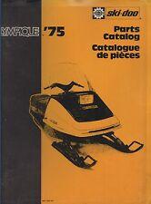 1975 SKI-DOO OLYMPIQUE  SNOWMOBILE PARTS MANUAL P/N 480 1024 00 (568)