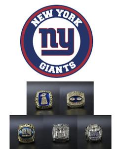 ALL New York Giants Ring World Championship Super Bowl Championship Ring