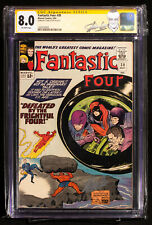 FANTASTIC FOUR #38 (Marvel 1965) CGC 8.0 Very Fine signed by Writer STAN LEE!!!