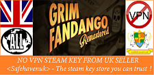 Grim Fandango Remastered Steam key NO VPN Region Free UK Seller