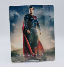 MAN OF STEEL - Bluray Steelbook Magnet Cover (NOT LENTICULAR)
