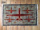 •266• Beautifully Handmade Genuine Afghan Drone War Rug, 98x61 cm