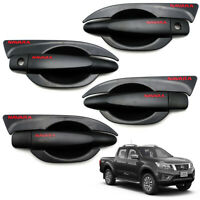 For Nissan D23 Navara Np300 4x2 4x4 2015 19 Set Bowl Inset+Handle Hand Cover