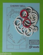 1977 Sonic Cherry Bell pinball rubber ring kit