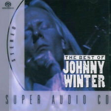 JOHNNY WINTER (THE BEST OF - SUPER AUDIO CD SEALED + FREE POST)