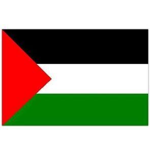 PALESTINE PALESTINIAN FLAG 5FT X 3FT FREE GAZA PALESTINIAN FREEDOM - 2 EYELETS