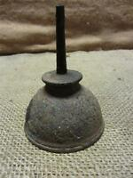 Vintage Metal Oiler > Antique Old Oil Can Farm Truck Garage Gas Auto 7687